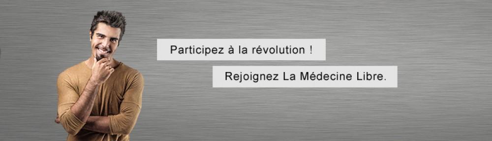 Rejoignez La médecine Libre, adhésion en ligne